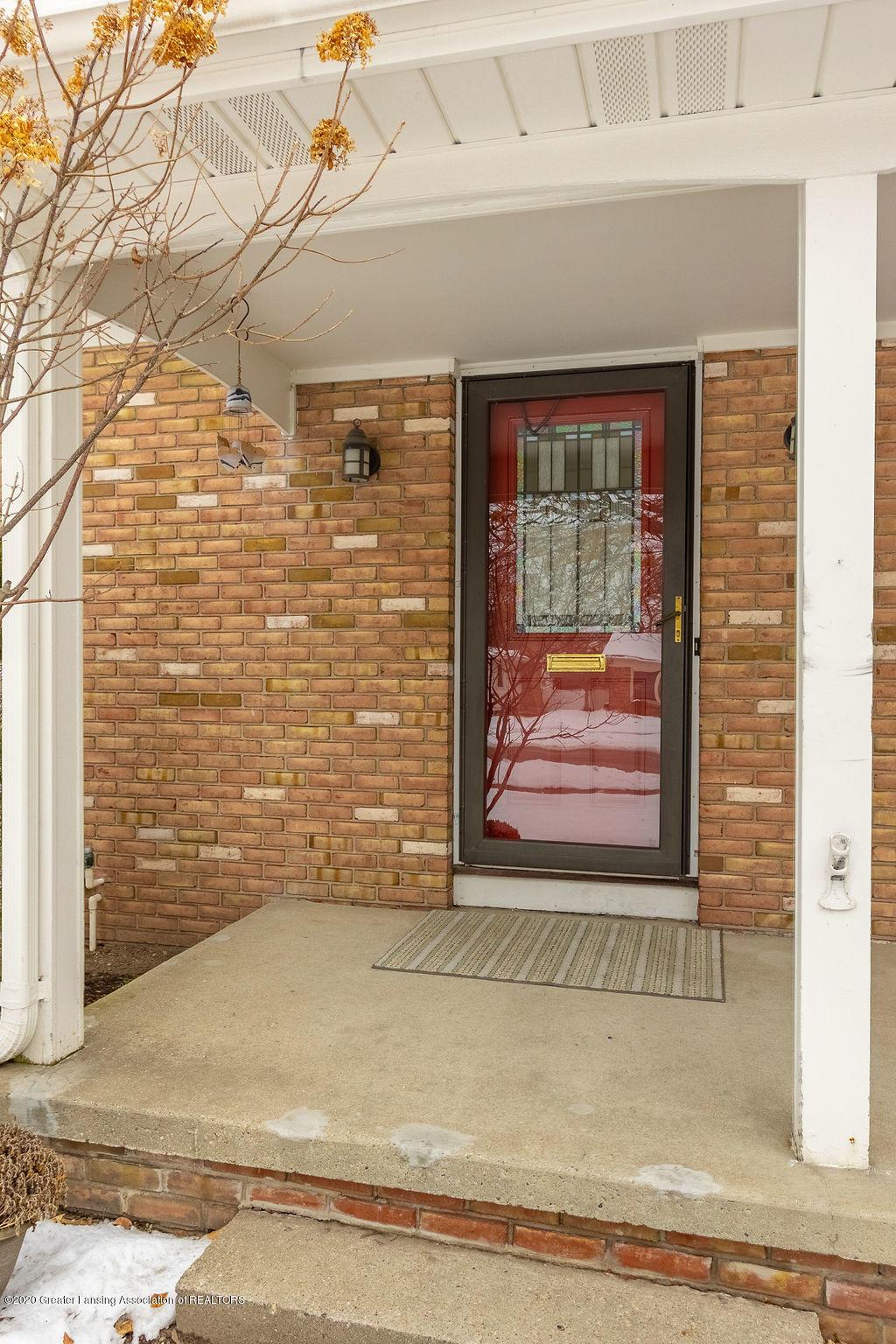 1614 Kingswood Dr - Front Door Facing West - 30