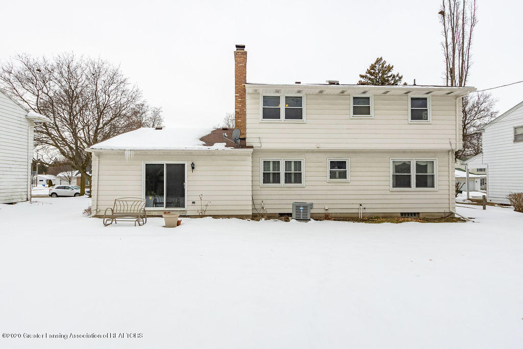 1614 Kingswood Dr - Rear of House - 31