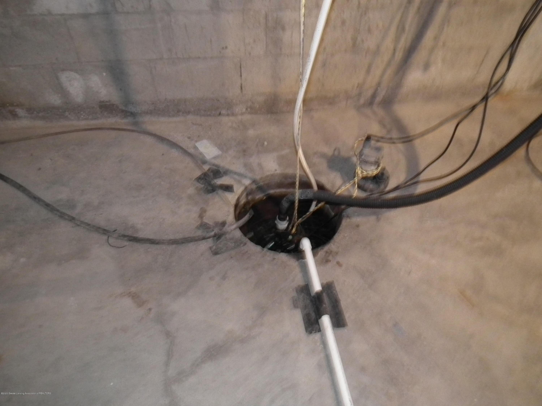 209 N Church St - 209 N. Church, Sump pump - 34