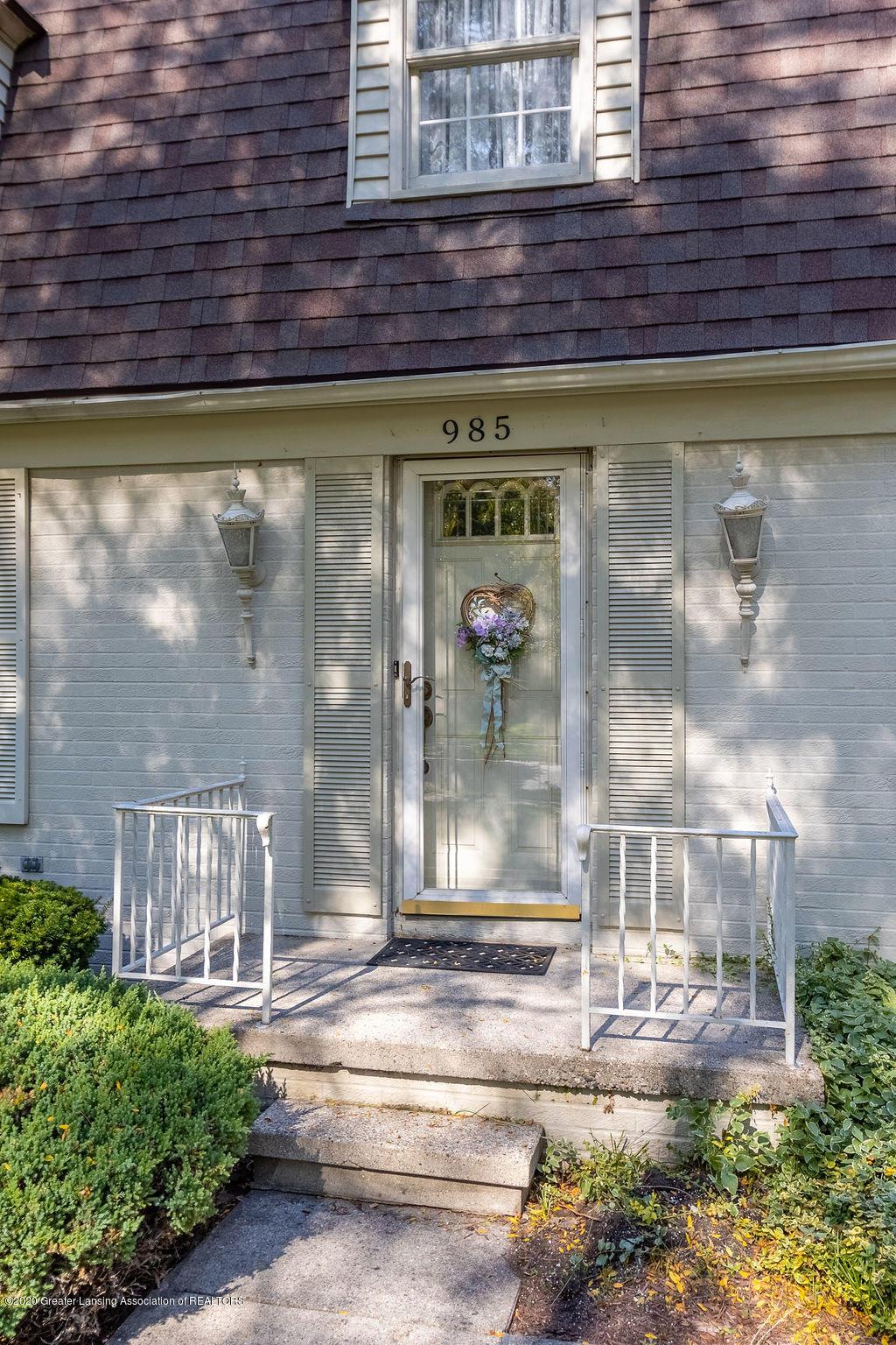 985 Northgate Dr - Front Door - 2