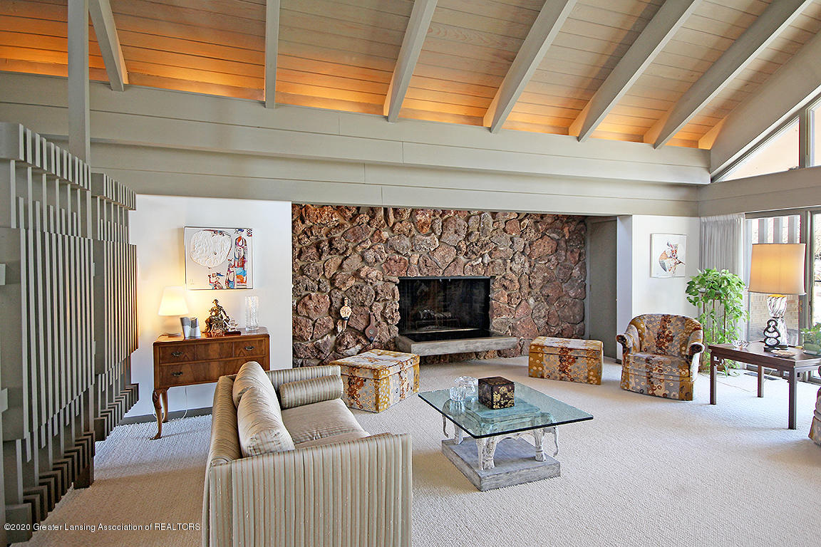 4567 Sequoia Trail - Field-stone faced wood burning - 10