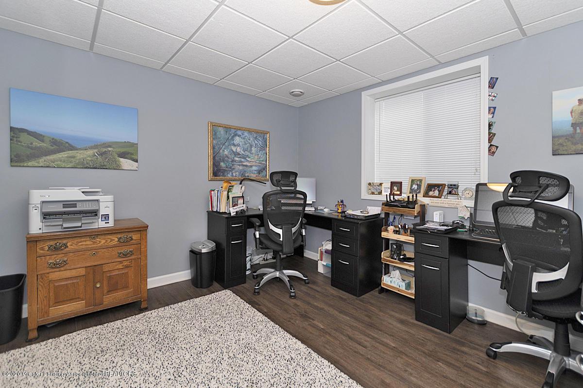 696 Phoebe Ln - Bedroom 3, now office - 21