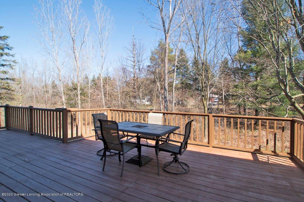 3794 Chippendale Dr - PRIVATE YARD AND DECK - 30