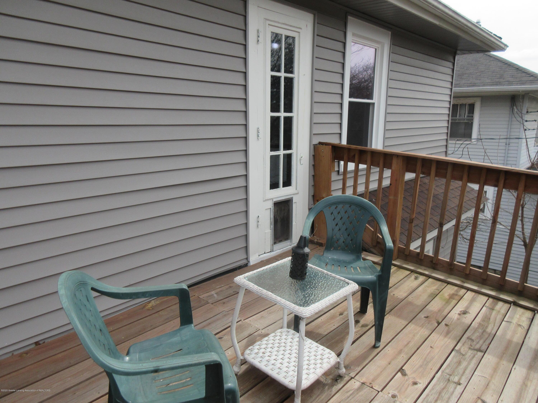 825 N Verlinden Ave - balcony off master bedrm - 14