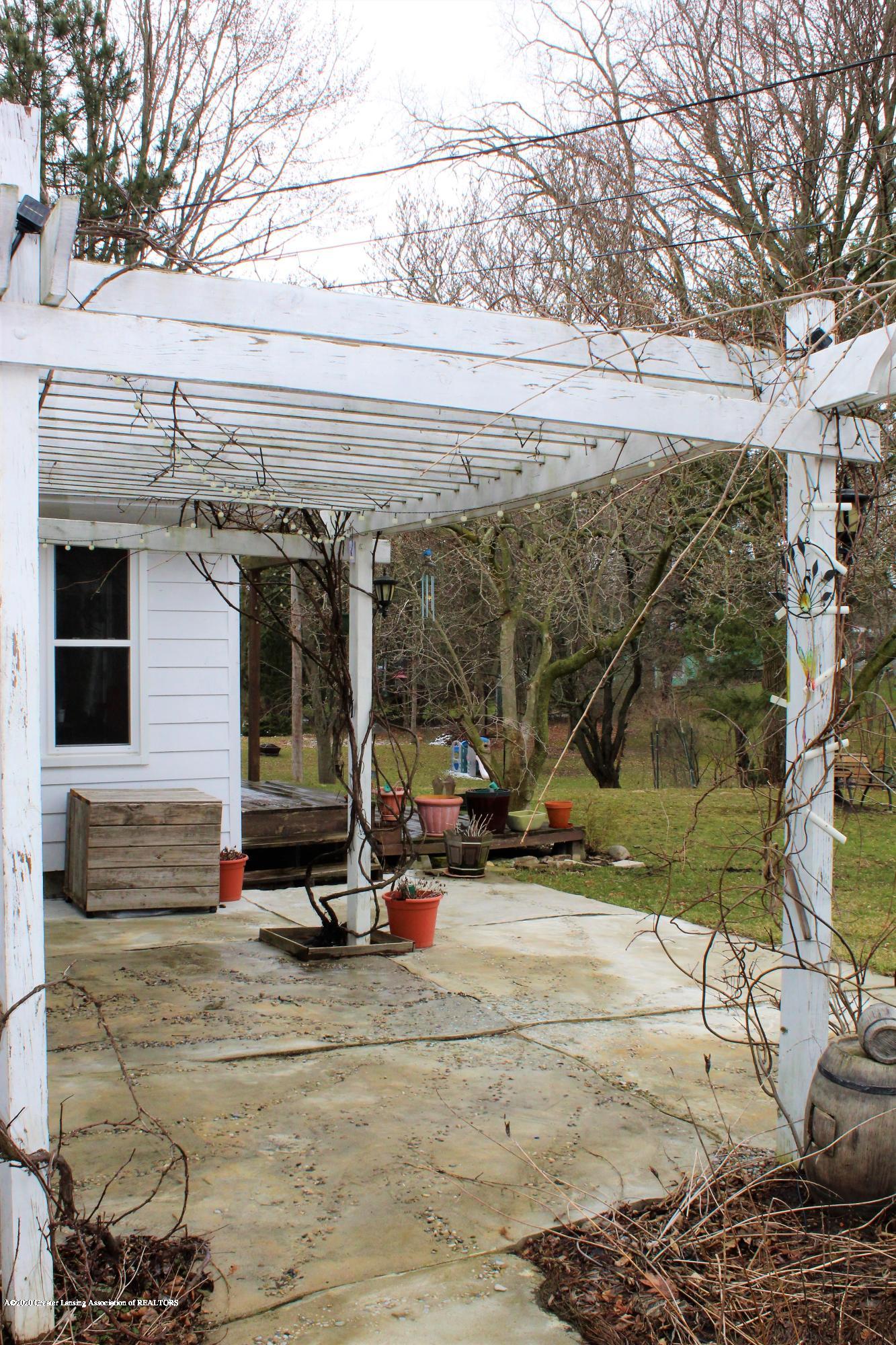2019 Pawnee Trail - rear patio pergola - 40