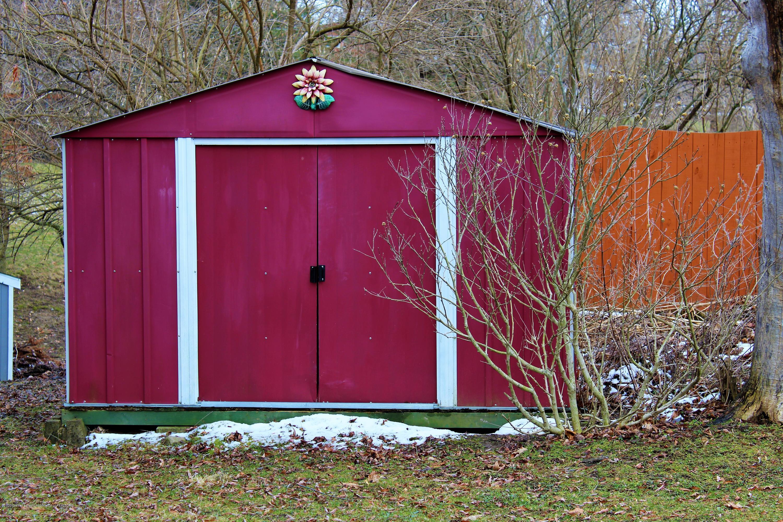 2019 Pawnee Trail - rear shed - 43