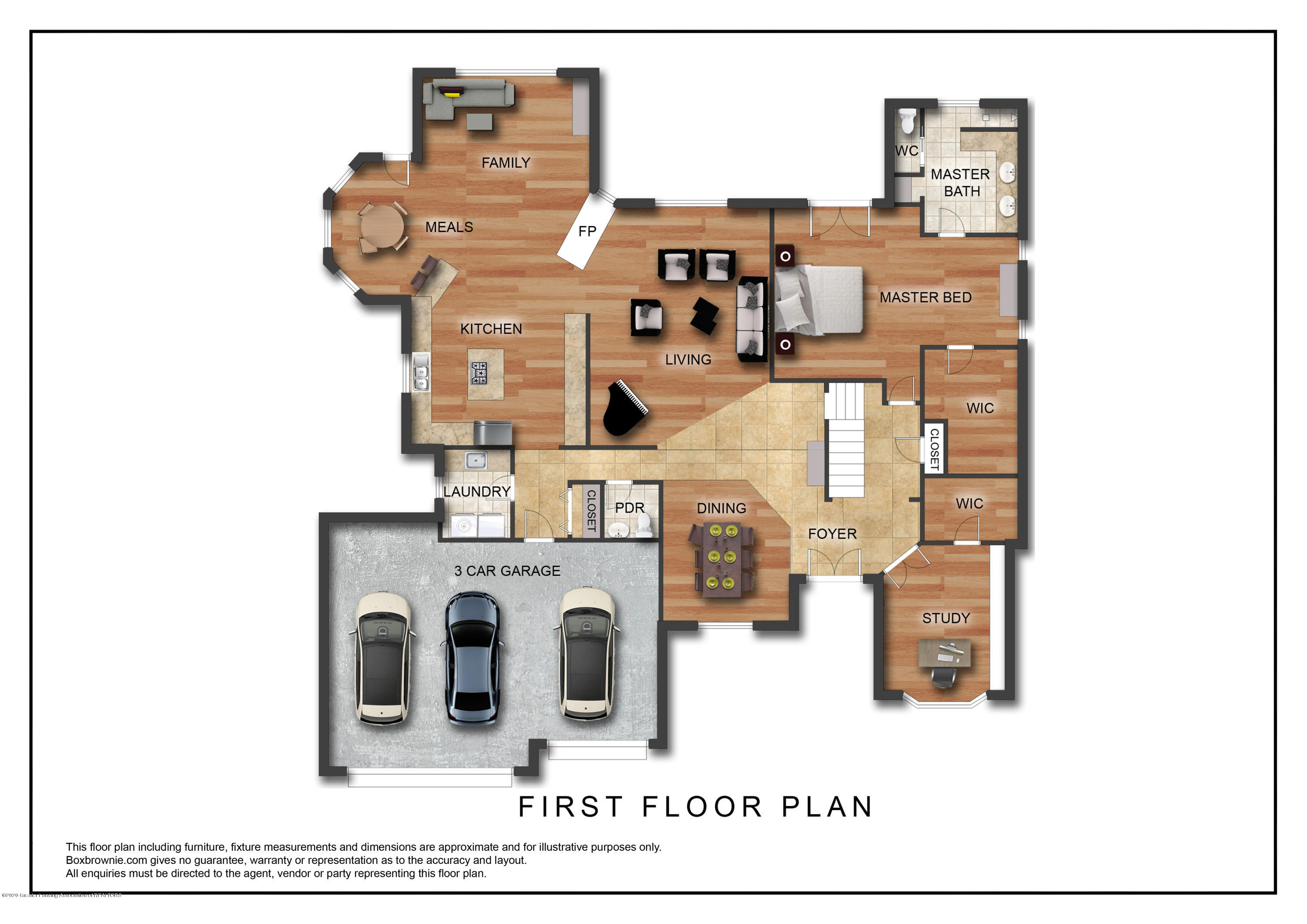 402 Shoreline Dr - First Floor Plan - 7