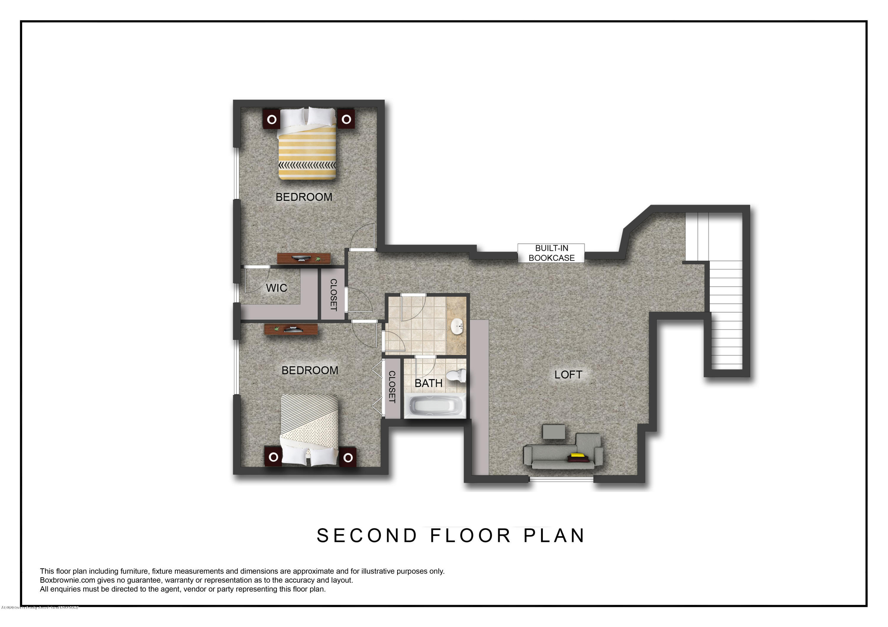 402 Shoreline Dr - Second Floor Plan - 29