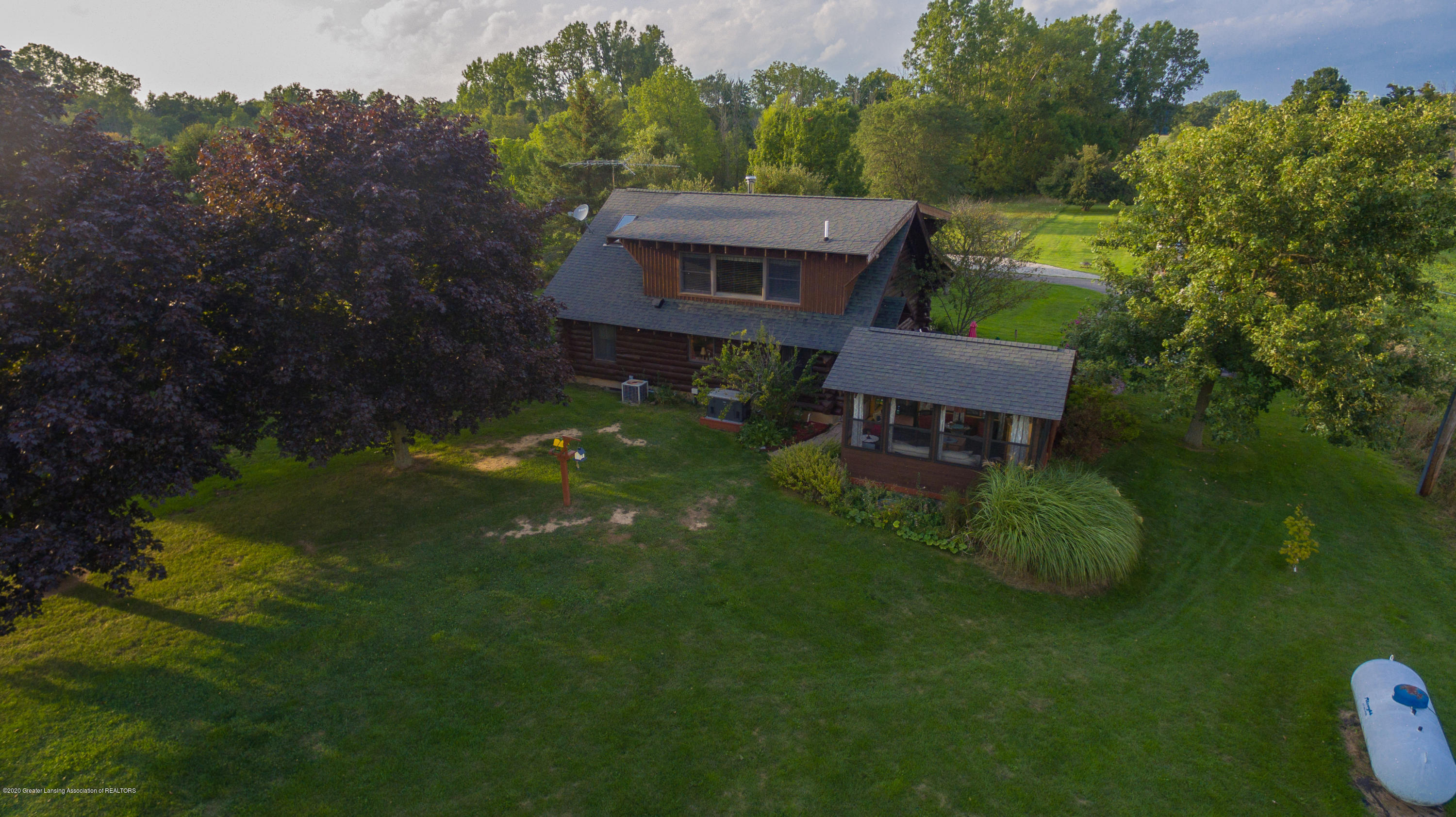 9648 W Wilbur Hwy - Aerial Rear View - 67
