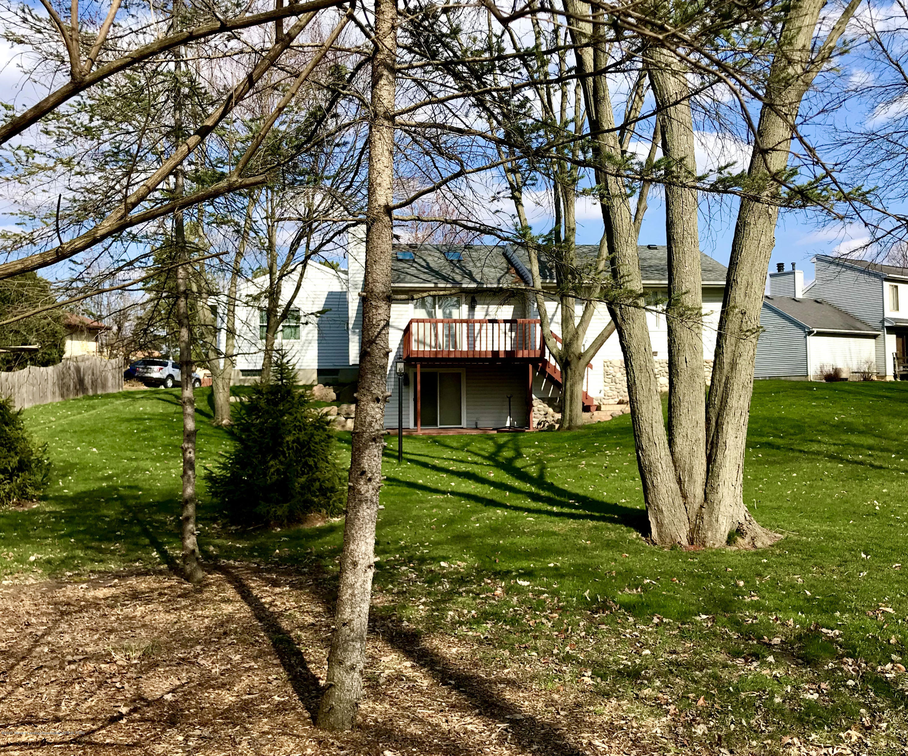 2473 Graystone Dr - Back View - 2