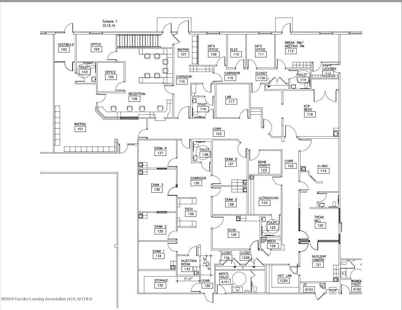 3960 Patient Care Dr 3 - Floor Plan - 2