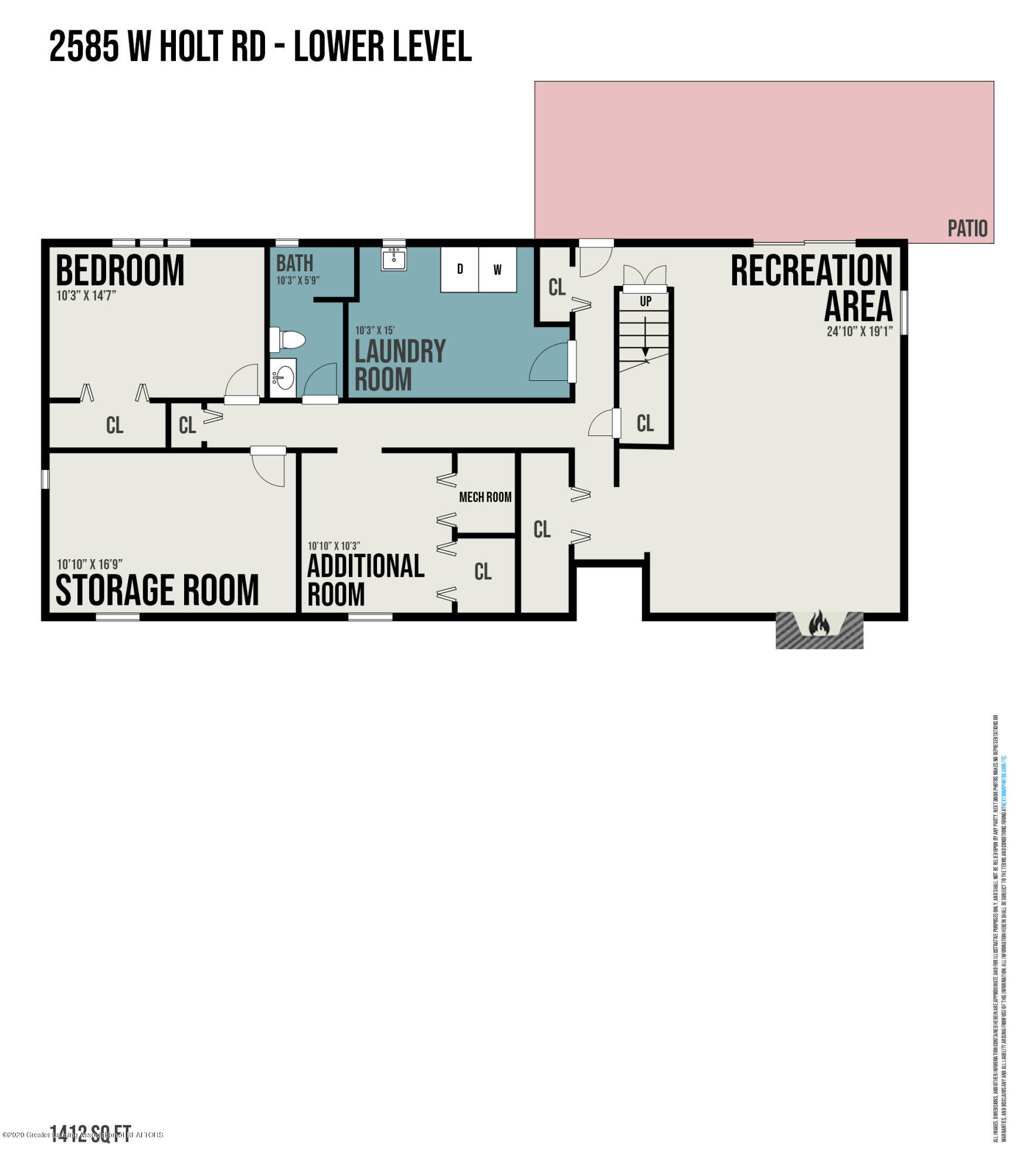 2585 Holt Rd - Lower Level - 32
