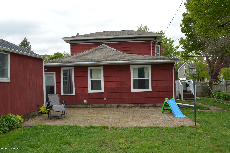 507 Taylor St - Exterior back/Brick patio - 19