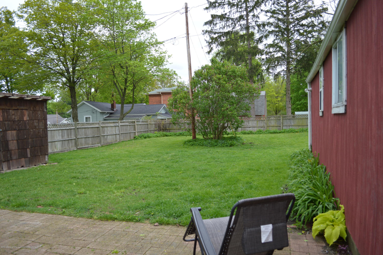 507 Taylor St - Deep fenced yard - 21