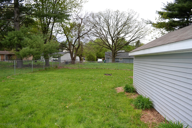 818 S Clinton St - Back Yard - 8