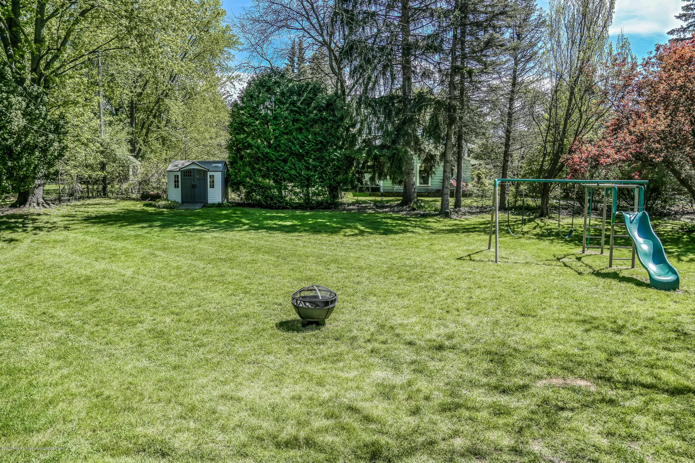 1681 Algoma Dr - Back yard - 44