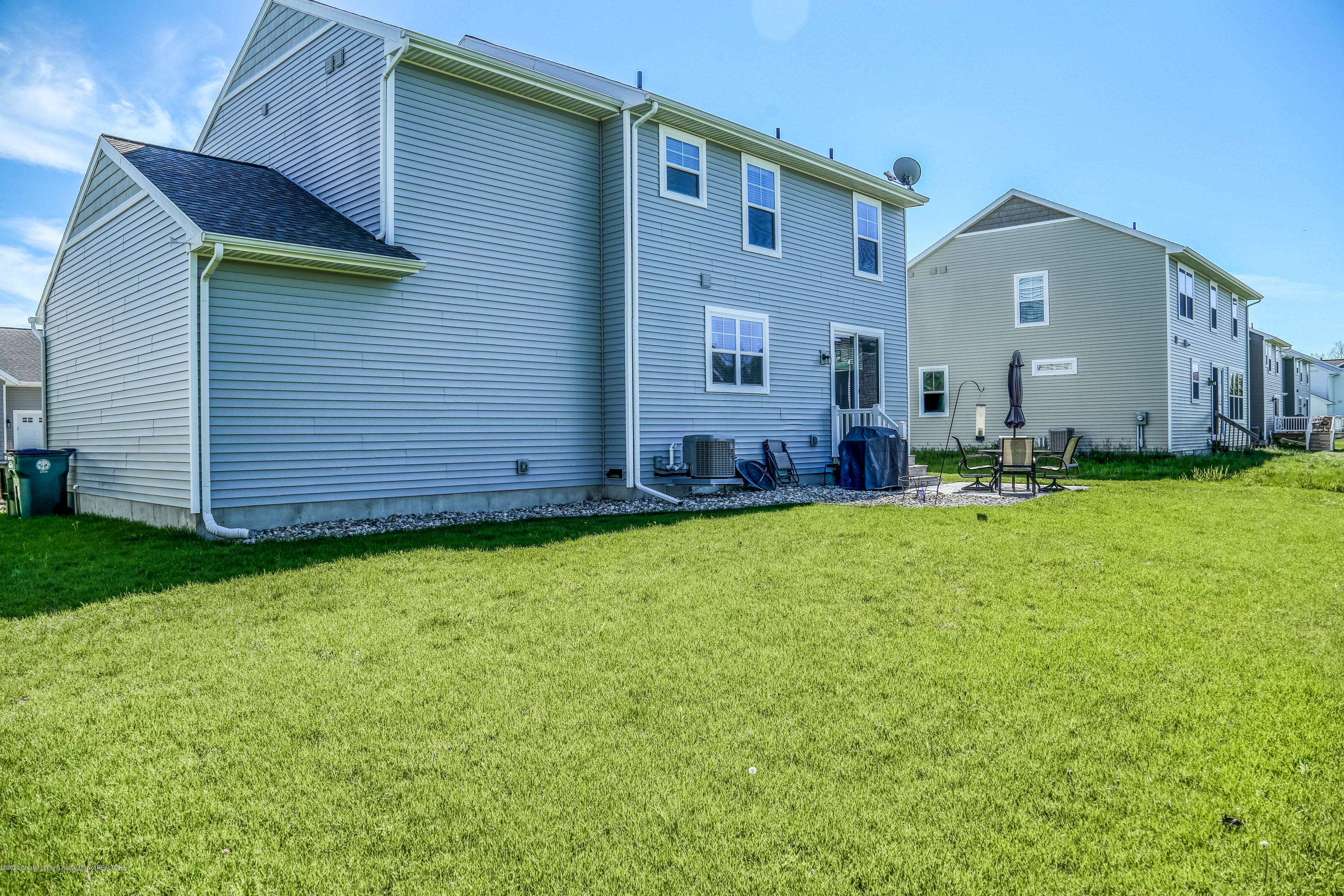 636 Buteo Dr - Back of Home - 37