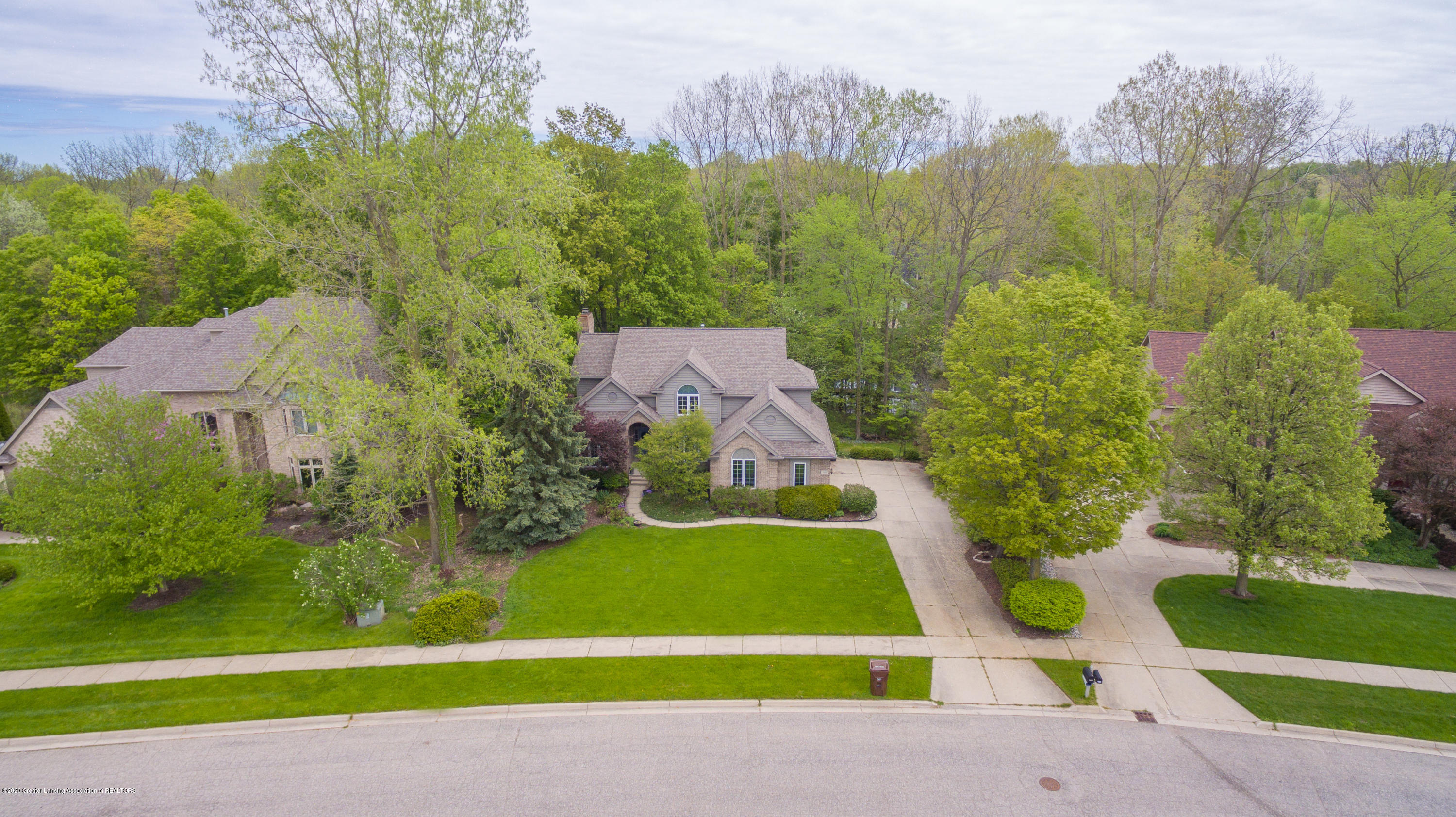 3668 Fairhills Dr - Aerial View - 5