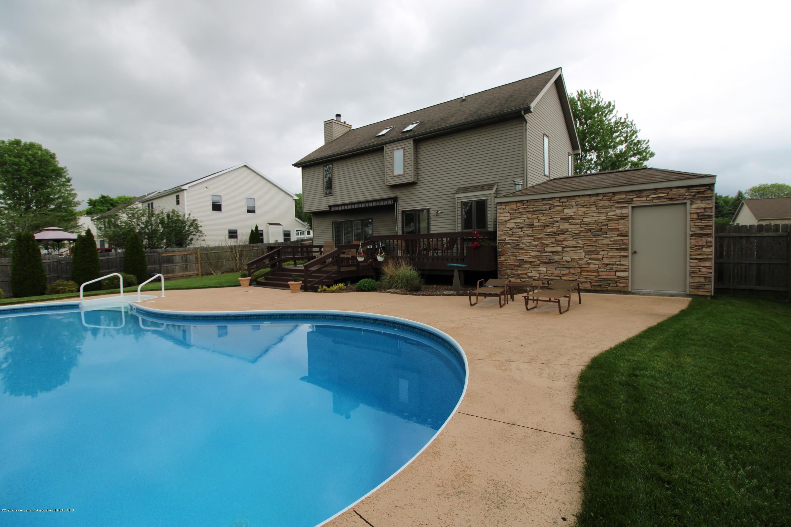 808 Powderhorn - 18. View of Pool House - 23