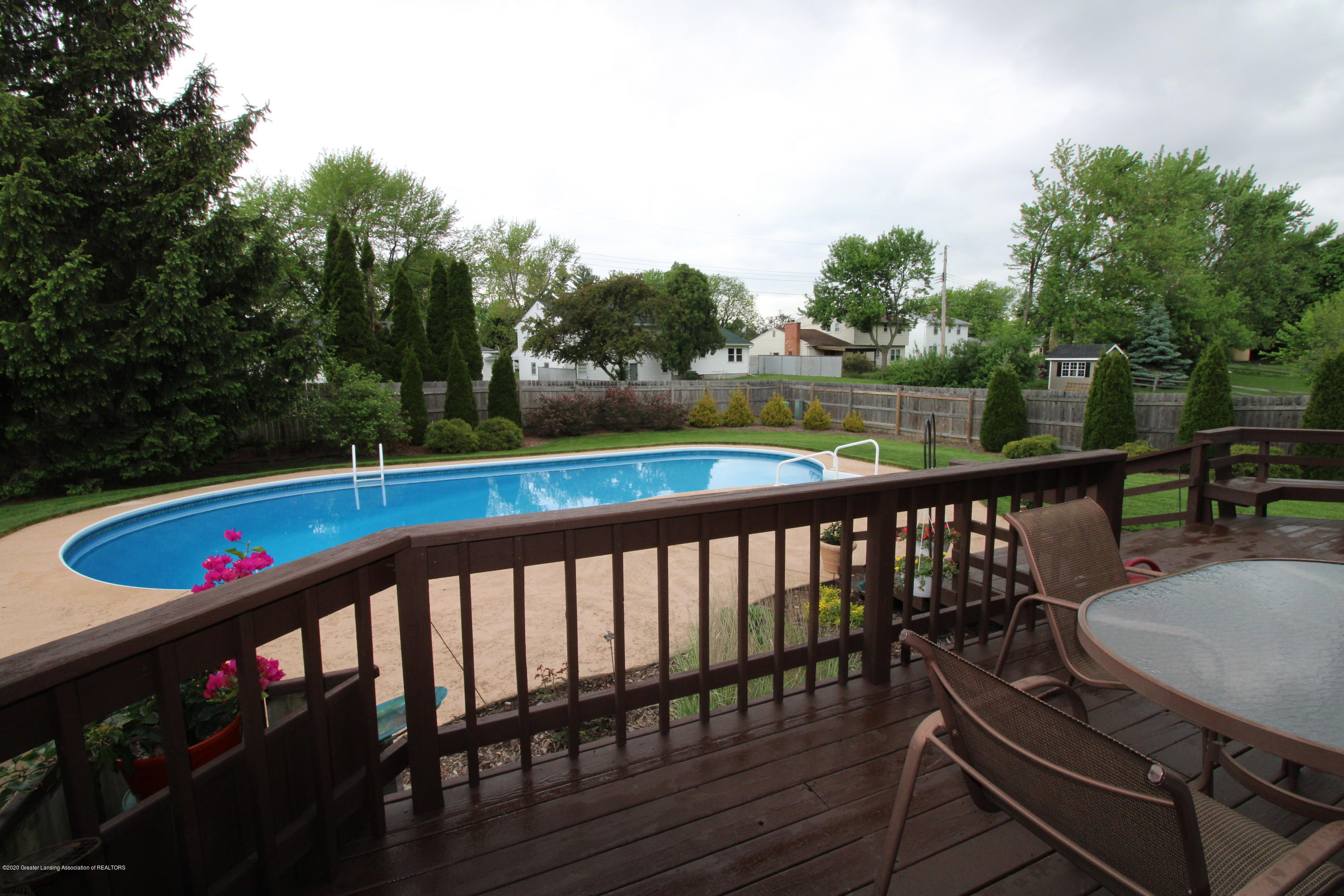 808 Powderhorn - 19. Pool from deck eating area - 24