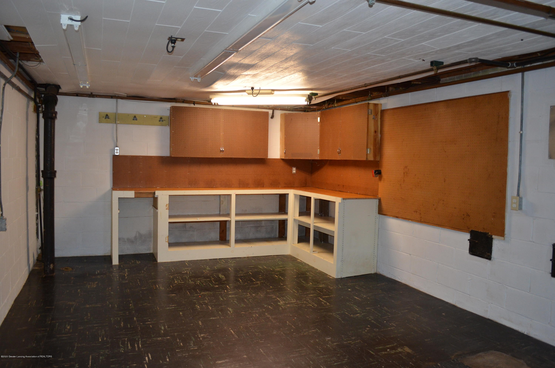 615 Bailey St - Basement Workbench Area - 40