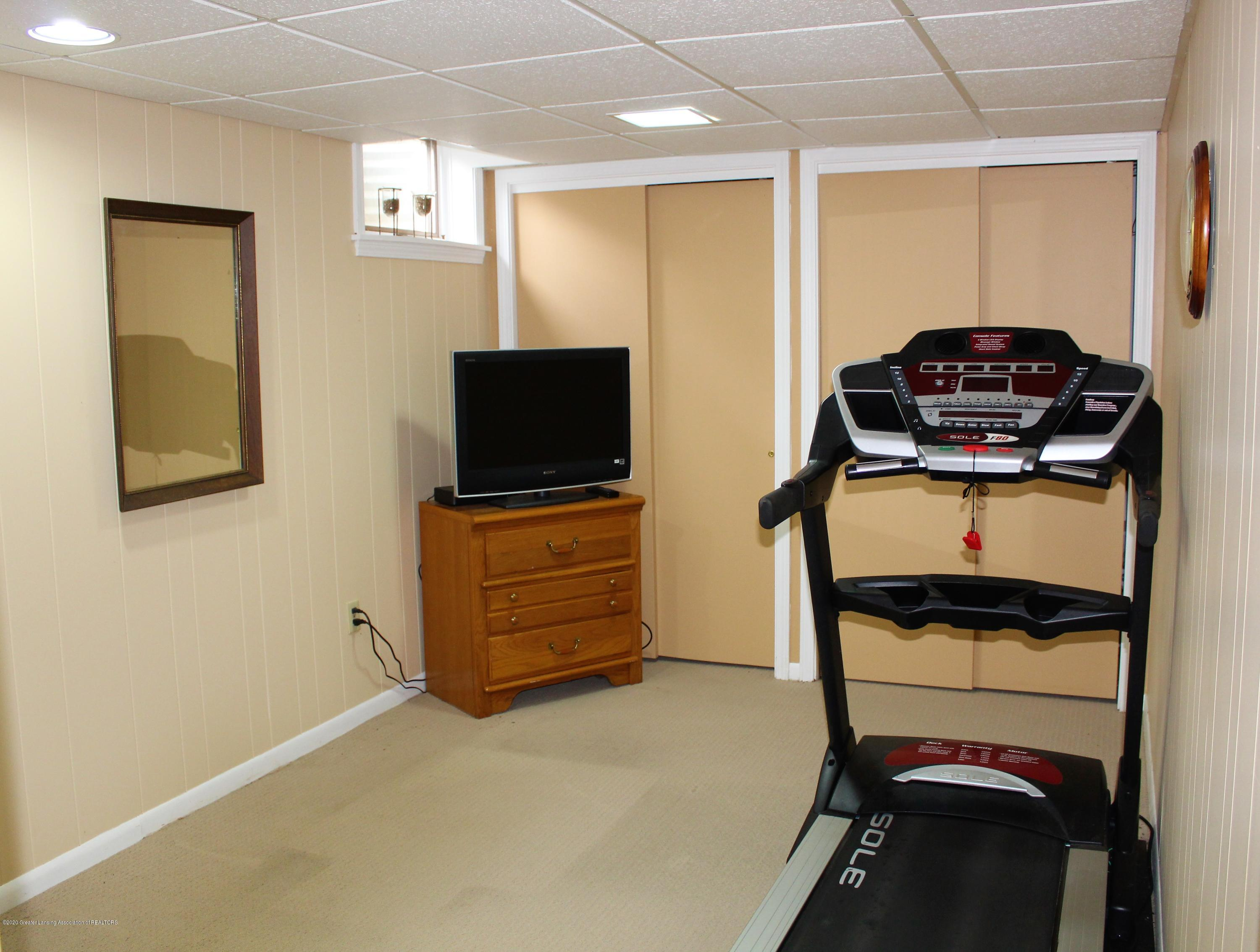 3599 W Arbutus Dr - LL Bedroom 4/Workout Room - 36