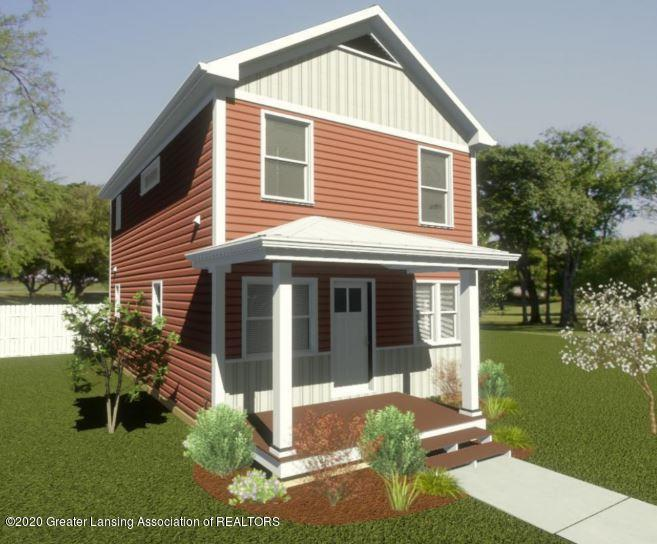 414 Haven  - Proposed Front Elevation - 1