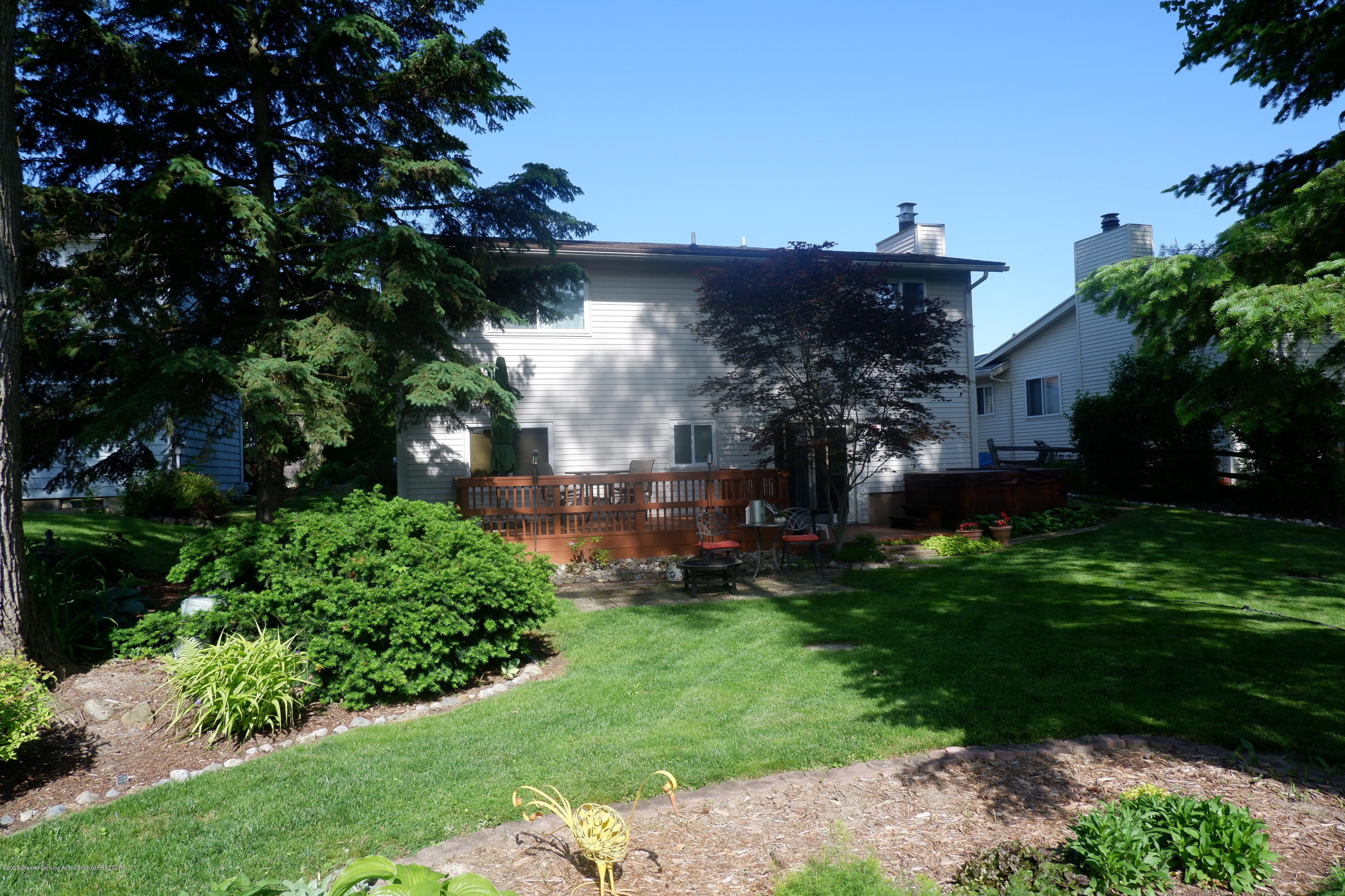 968 Touraine Ave - Rear view of house - 4