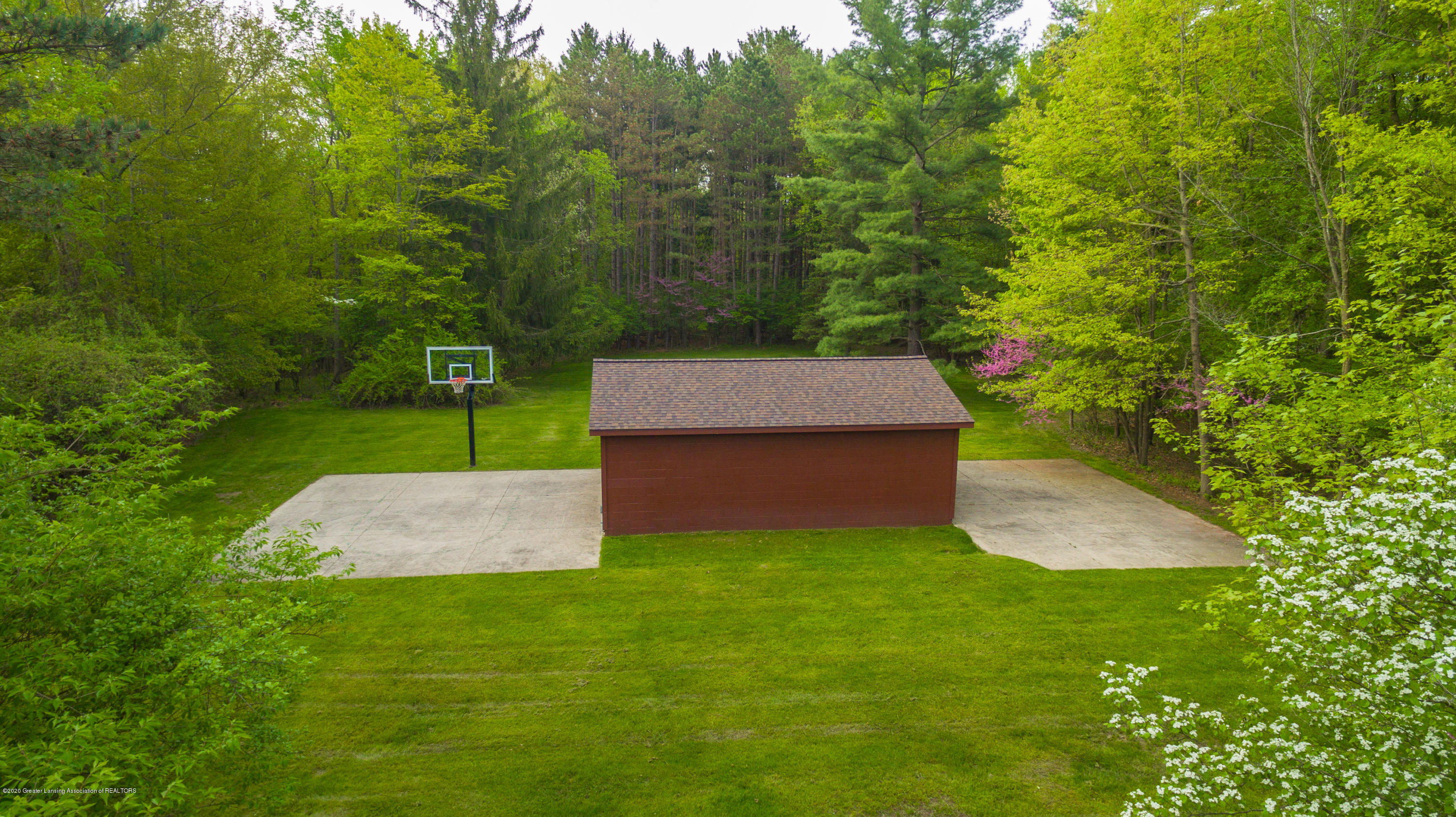 1172 Wrightwind Dr - Aerial View Shed - 12