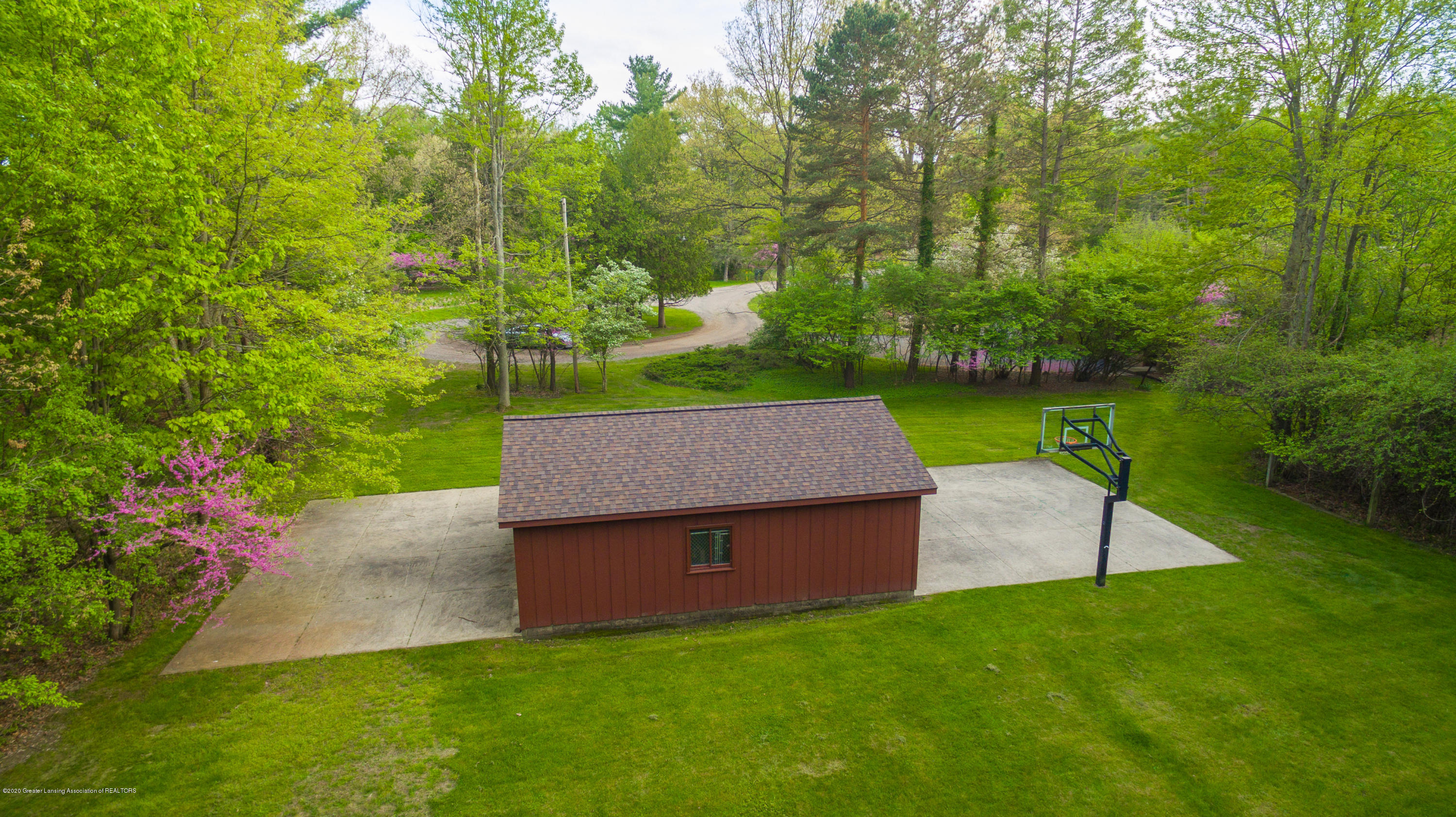 1172 Wrightwind Dr - Aerial View Shed - 81