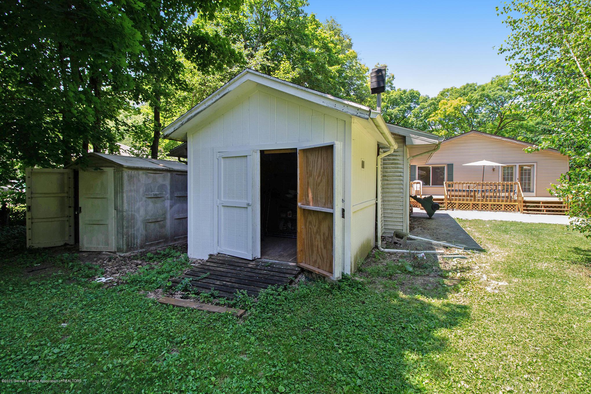 4510 Dobie Rd - Yard/shed - 22