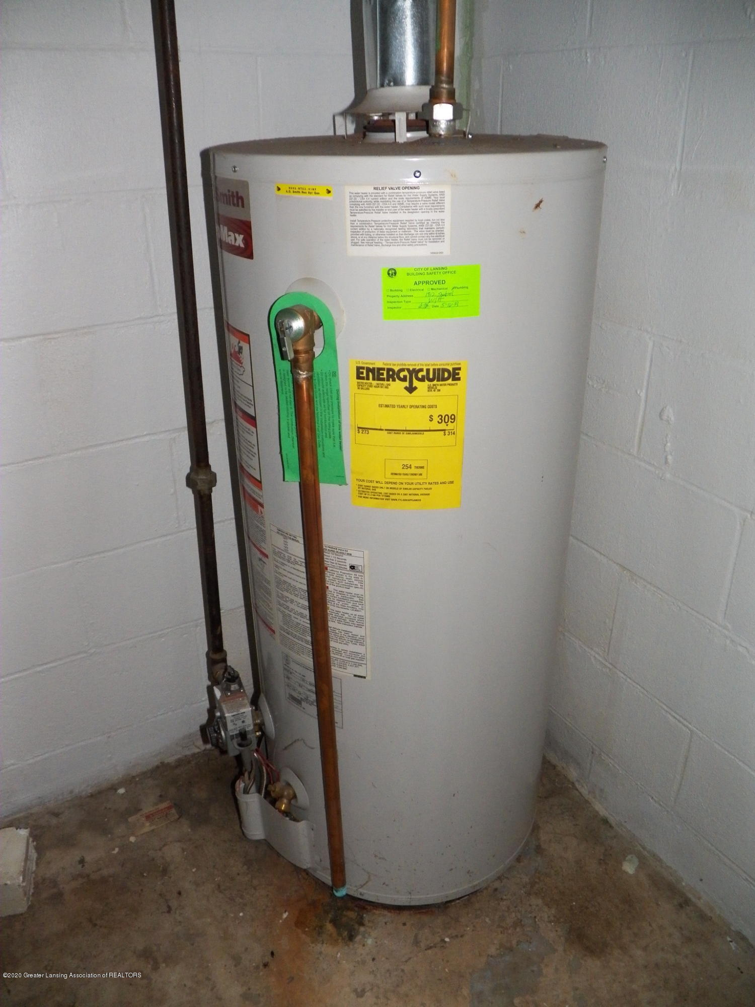 1812 Shubel Ave - hot water heater - 18