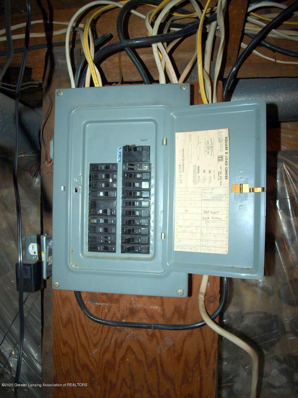 202 N Lansing St - Electric Panel - 18