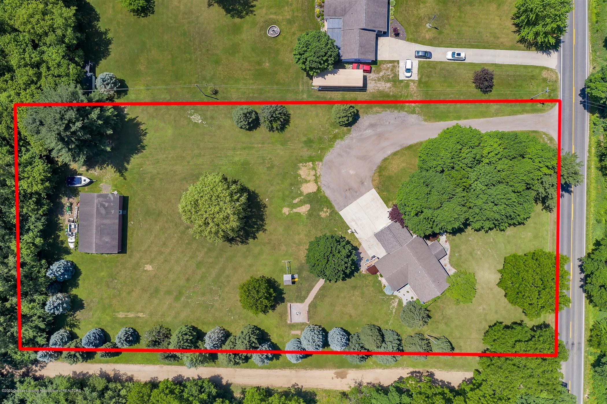 4445 W Britton Rd - PROPERTY VIEW Arial - 3