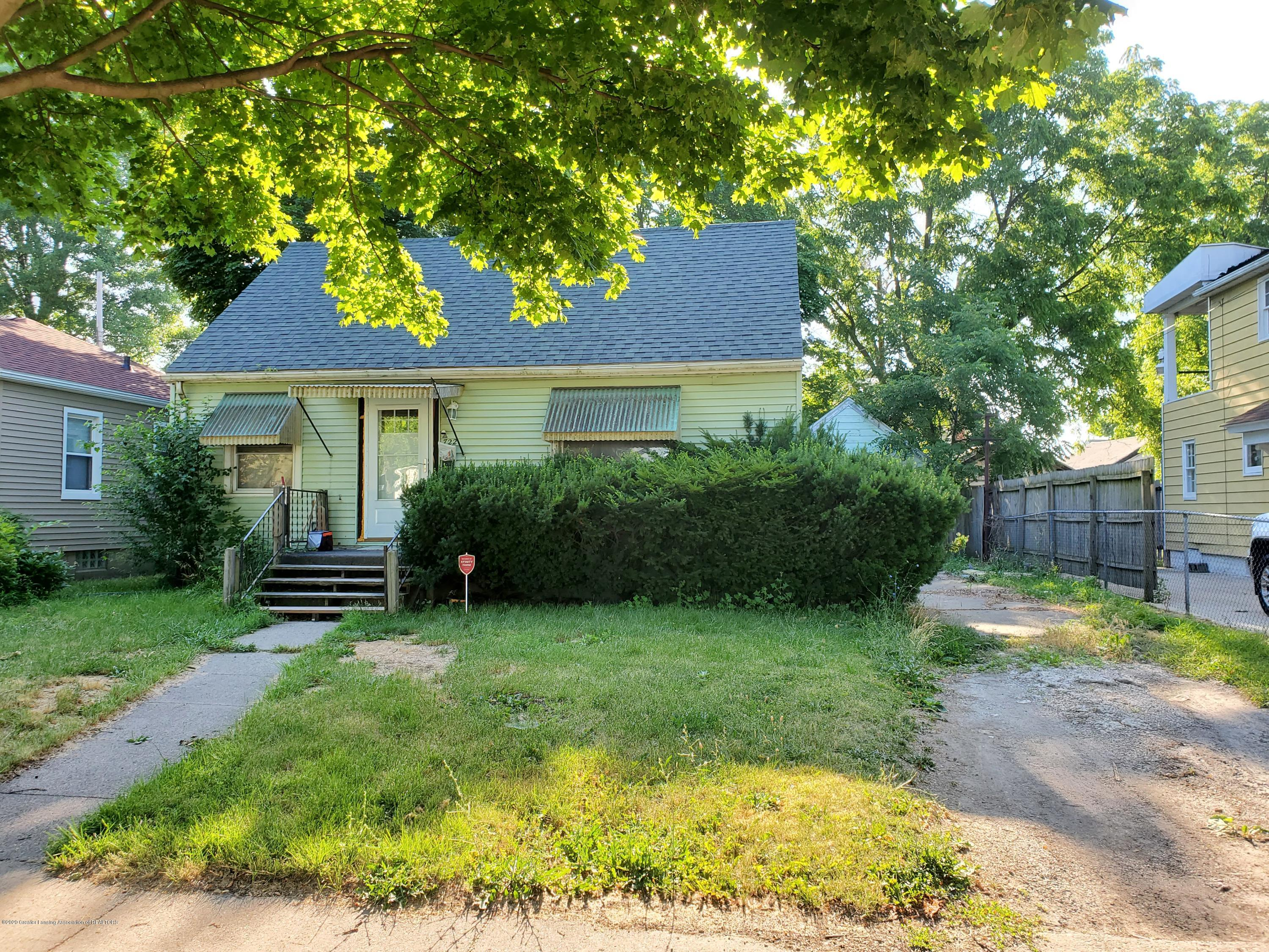 722 Durant St - Front exterior - 1