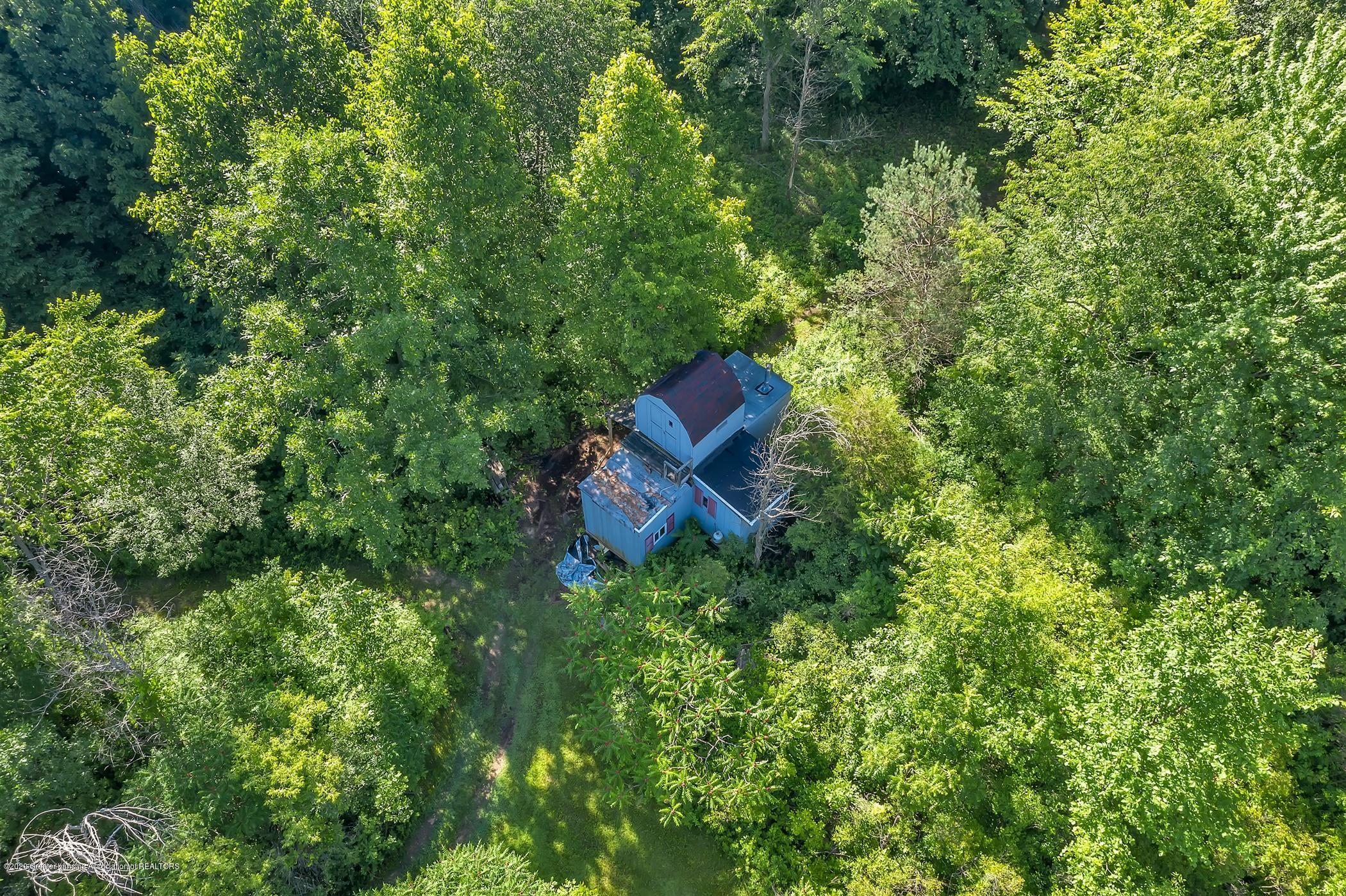 6255 Tyrrell Rd - Aerial of Hunting Cabin - 60