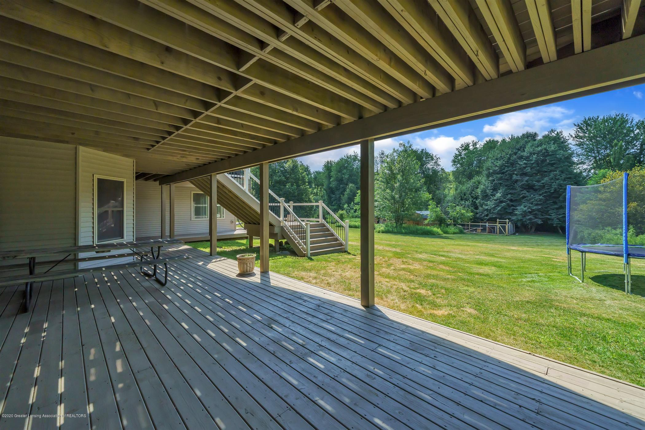 6255 Tyrrell Rd - Lower Level Deck Area - 49