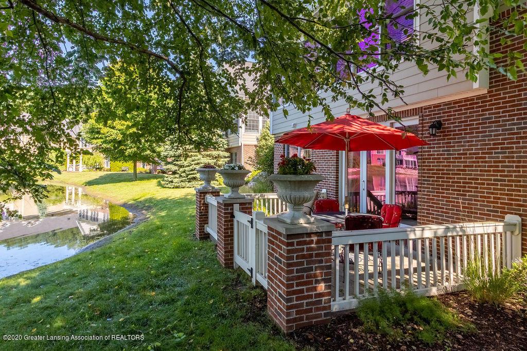 6198 Graebear Trail 56 - Fenced patio - 6