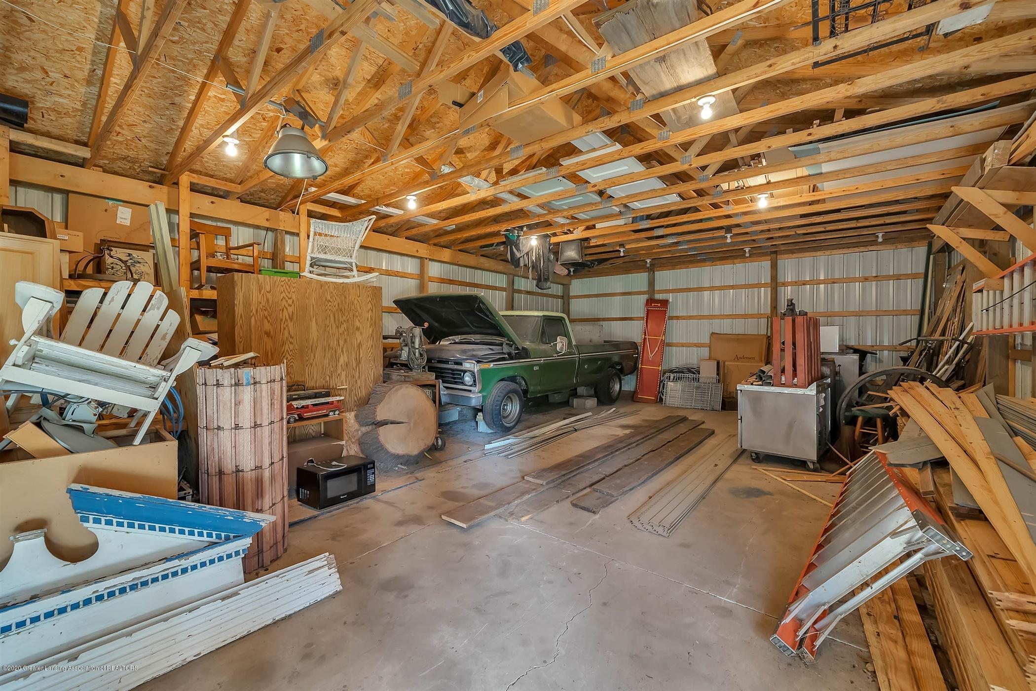 6750 W Lovejoy Rd - (46) INTERIOR Pole barn - 46