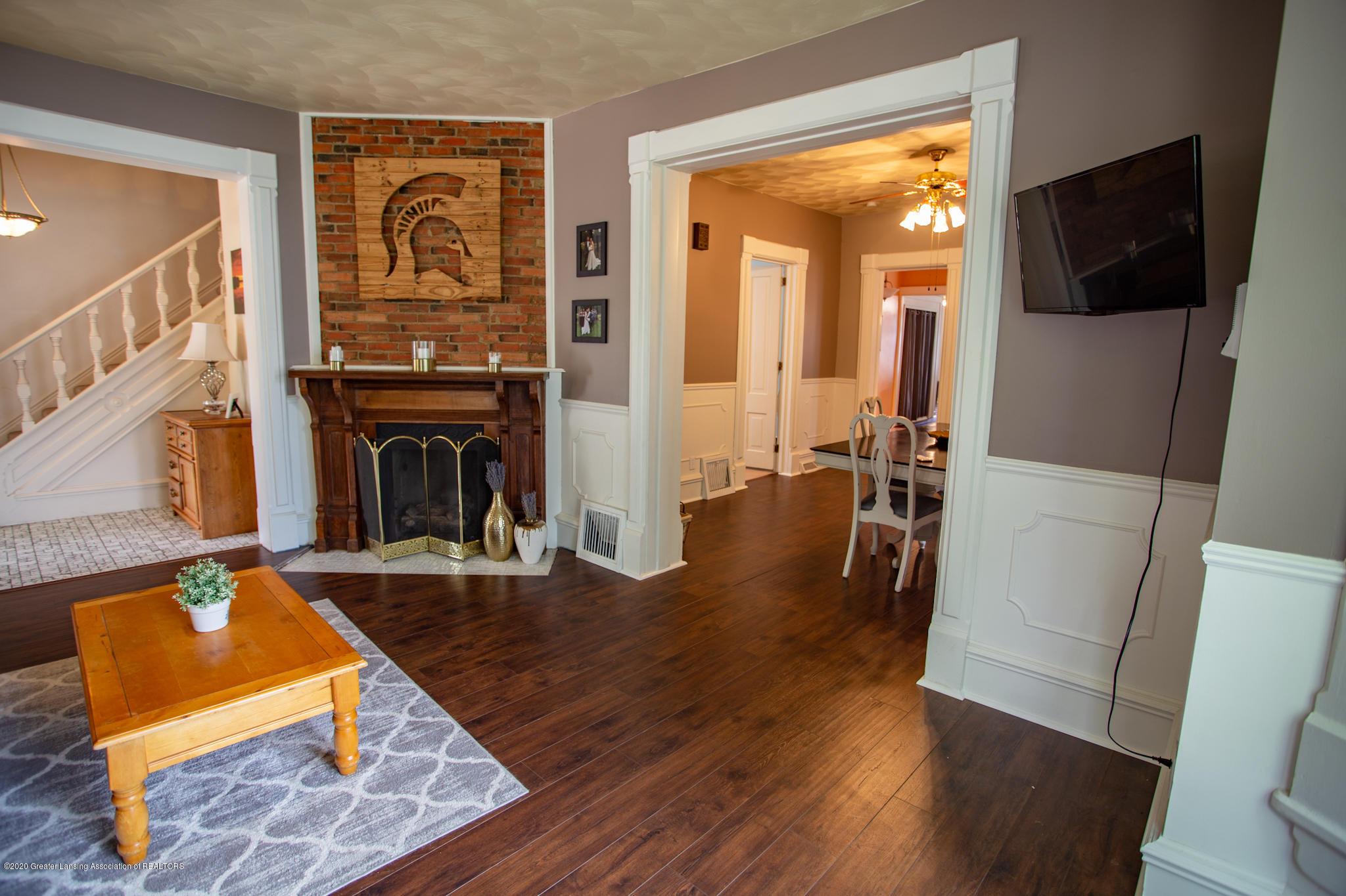 116 S Clinton St - Living roomCharlotte-06 - 6