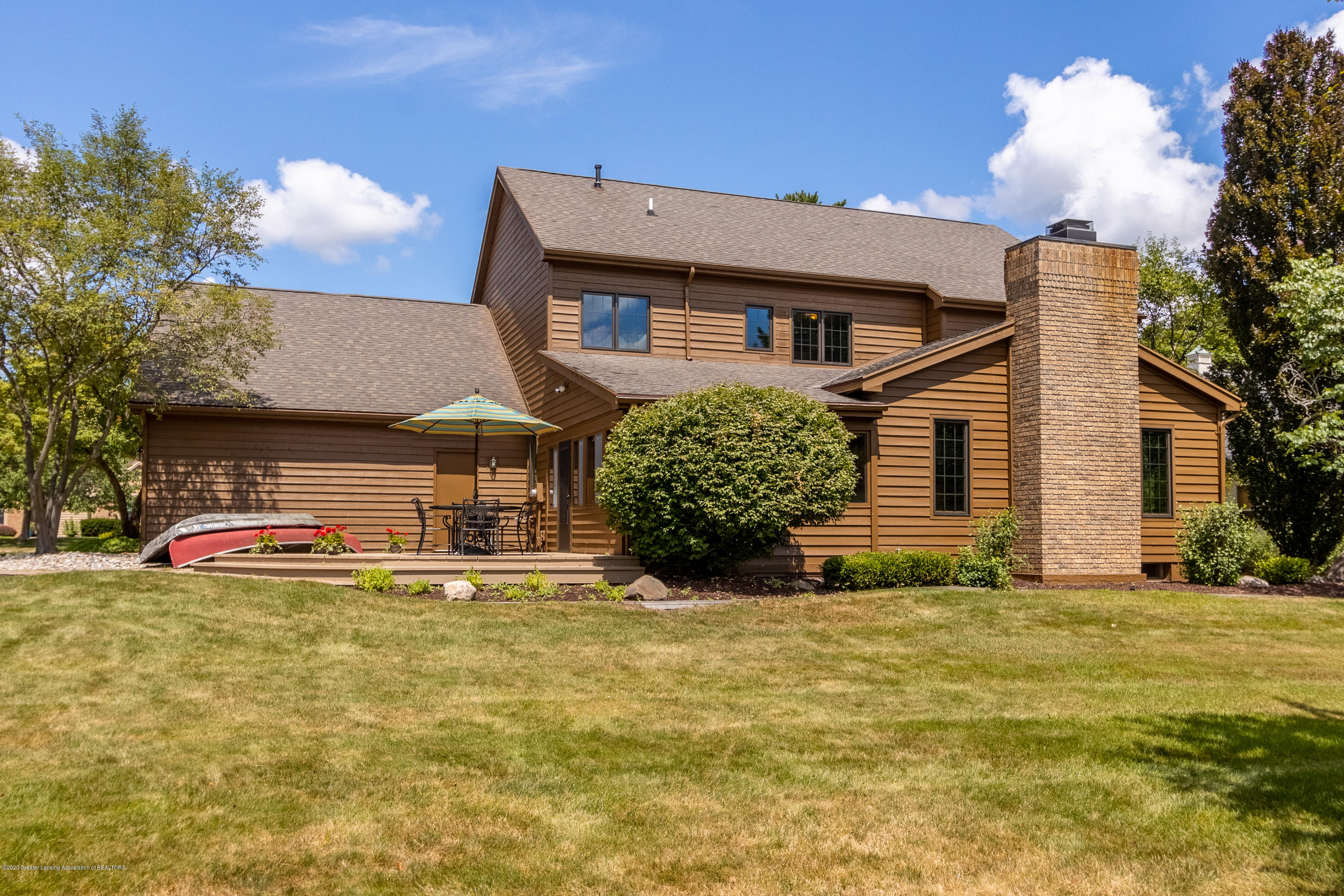 3892 Crooked Creek Rd - Back View - 9