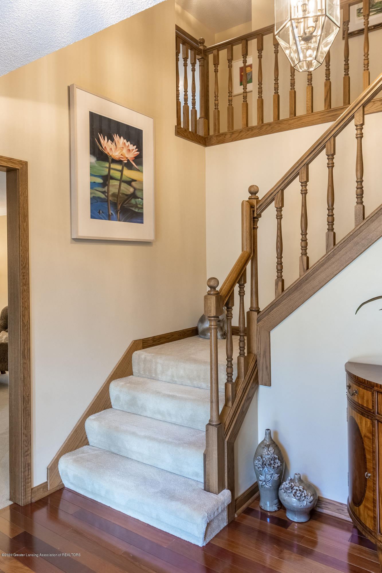 3892 Crooked Creek Rd - Stairs to Upper Level - 15