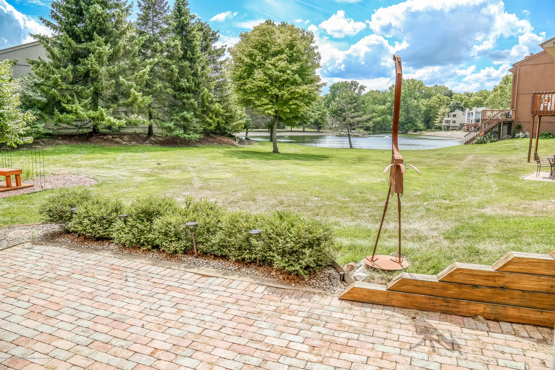 5307 E Hidden Lake Dr - Waterfront Rear View - 26