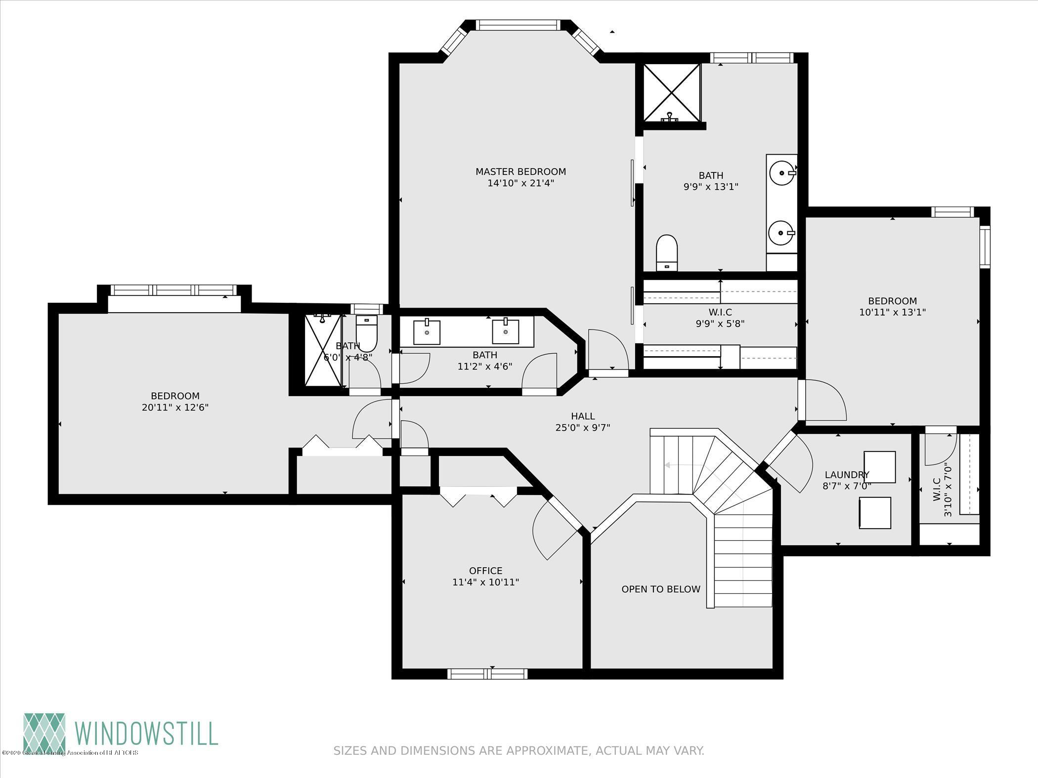 4332 Aztec Way - Floor Plan Second Floor - 35