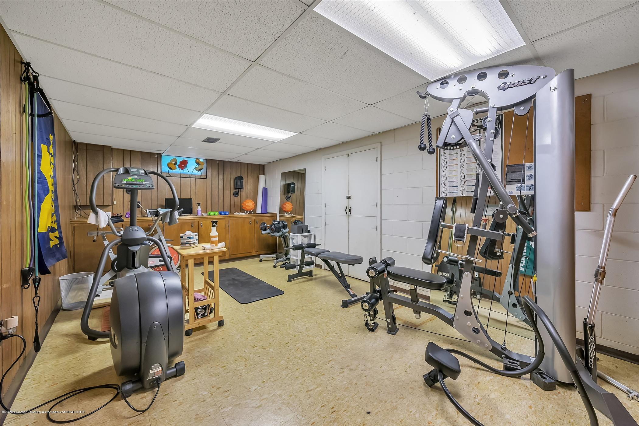 2914 Margate Ln - LOWER LEVEL Recreation and Exercise Area - 26