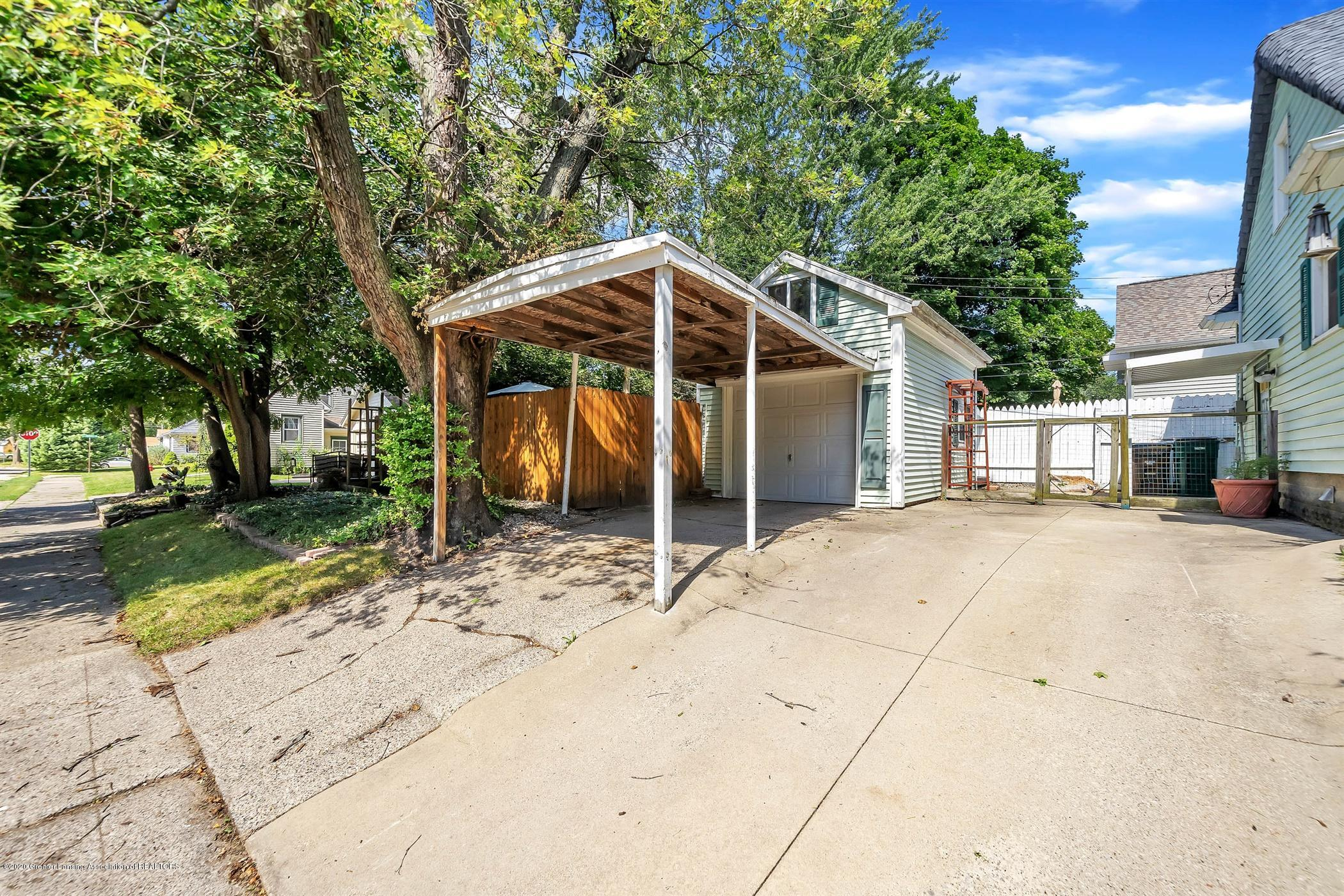 2032 Clifton Ave - (32) EXTERIOR Driveway and Carport - 33