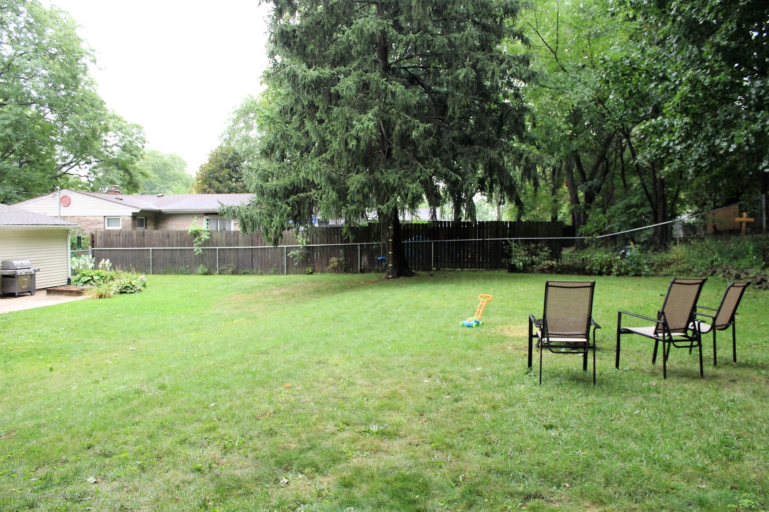 5585 Hallendale Rd - Backyard - 49