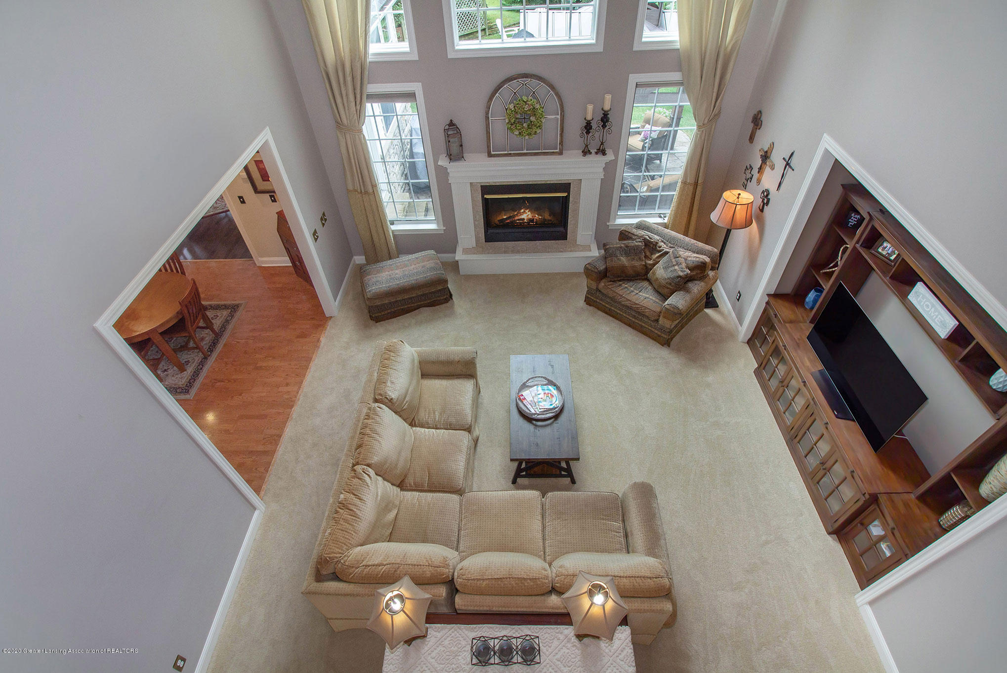 2223 Cawdor Ct - View above to great room - 23