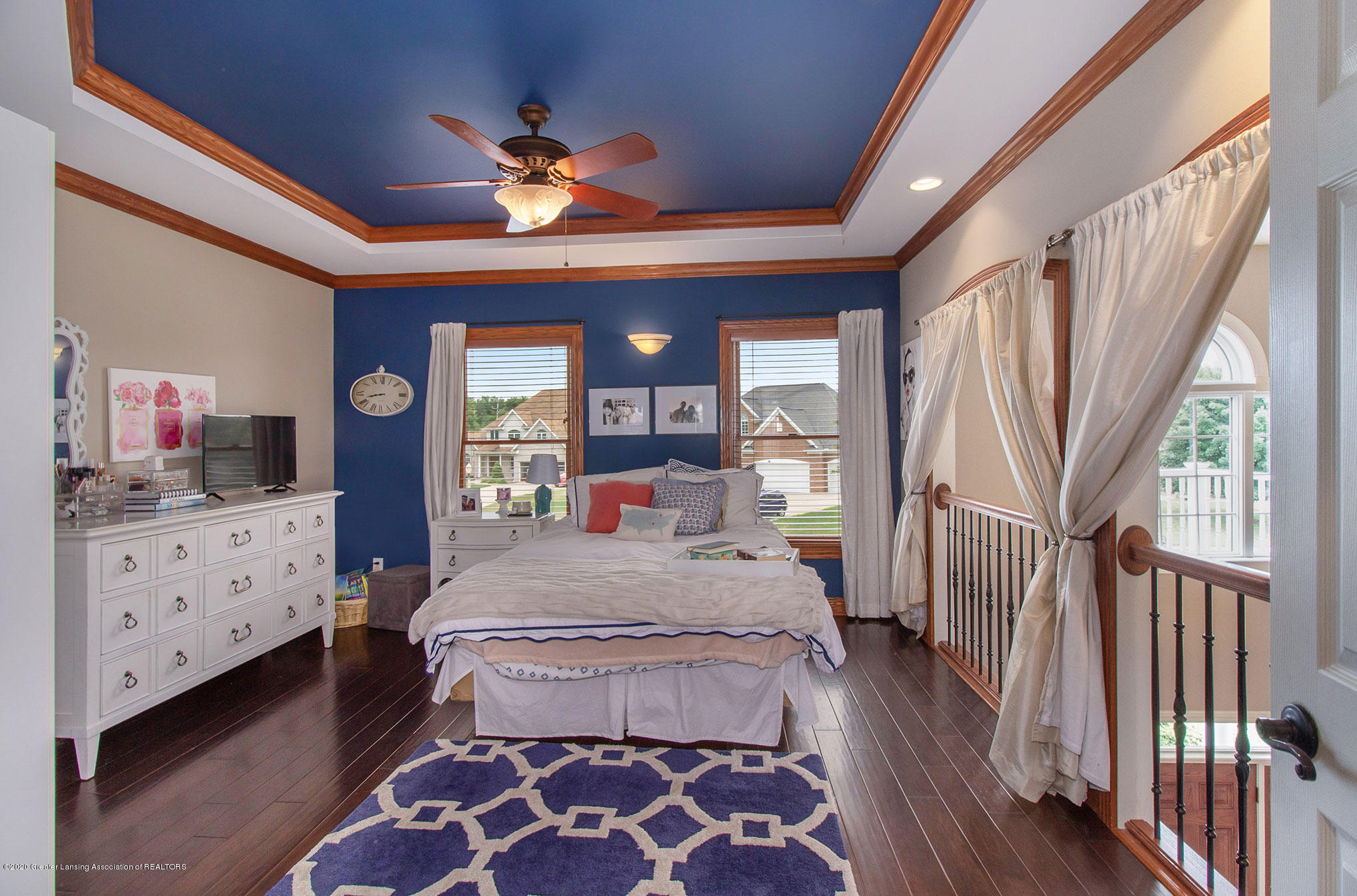 2223 Cawdor Ct - Bedroom with Balcony - 24