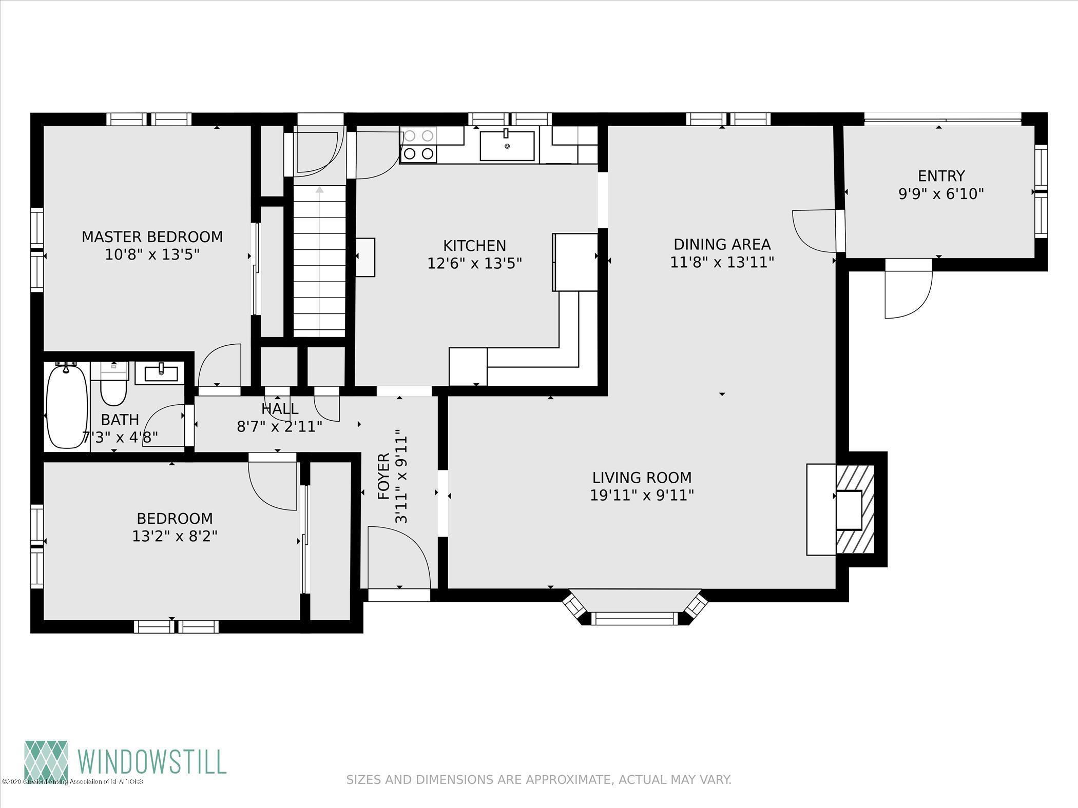 3087 Sandhill Rd - First floor plan - 30